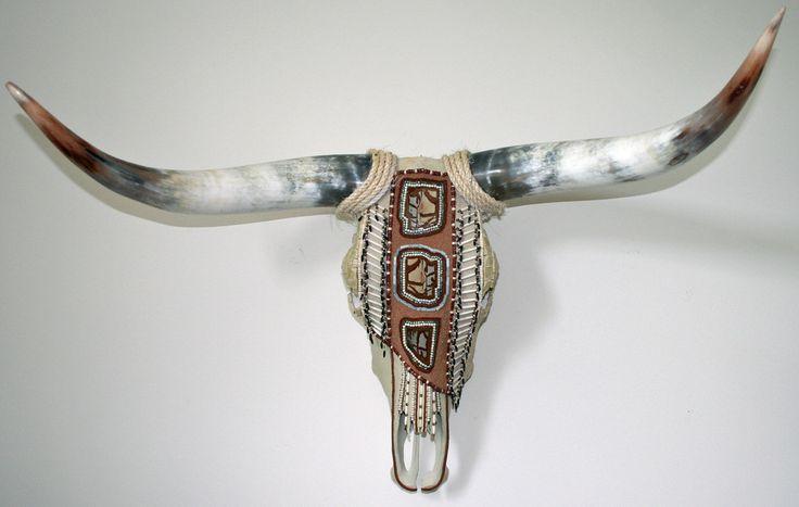 Native American Cow Skull Home Decor Wall Art Longhorn