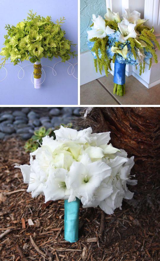 Gladiola Blooms Blue Wedding Flowers Pinterest