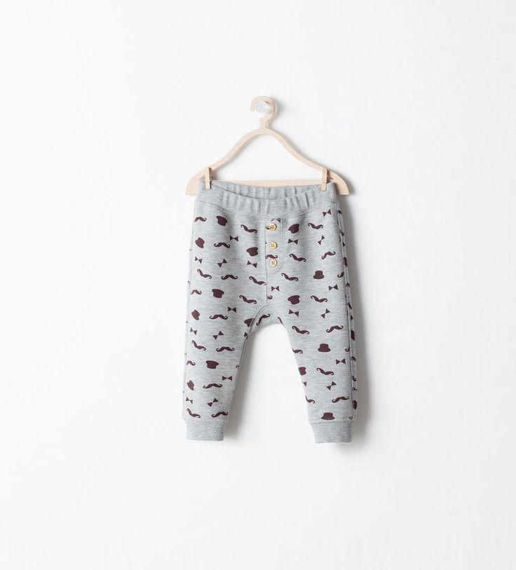 LEGGING MET MOUSTACHE ZAK - Broeken - Baby jongen (3 maanden - 3 jaar) - KINDEREN   ZARA Nederland