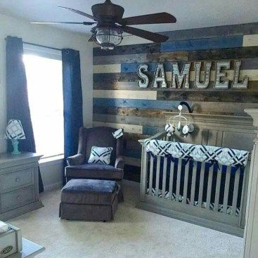 awesome 63 Rustic Baby Boy Nursery Rooms Design Ideas  http://about-ruth.com/2017/11/19/63-rustic-baby-boy-nursery-rooms-design-ideas/