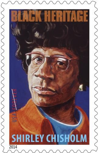 We are proud to announce the release of the Shirley Chisholm Forever® stamp. An outspoken politician who shattered barriers of race and gender in the 1960s and 1970s, Chisholm was the first African-American woman ever elected to Congress. She was also the first African American and only the second woman to seek the presidential nomination of a major political party. Her stamp is the 37th in the popular Black Heritage series.