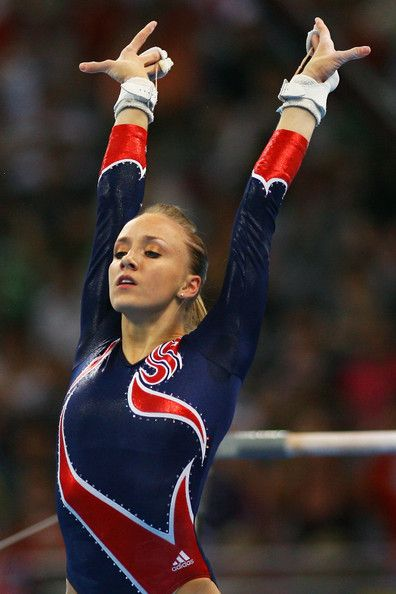 Nastia Liukin...So much respect for her and this pic personifies my reasoning for that I think.