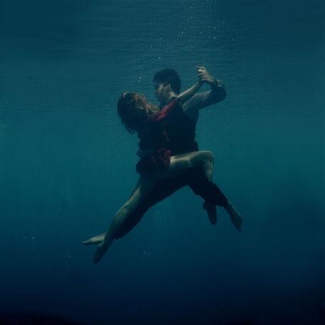 'underwater tango' by Katerina Bodrunova on artflakes.com