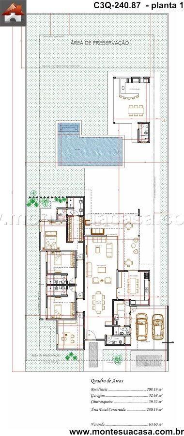Casa 0 Quartos - 240.87m²