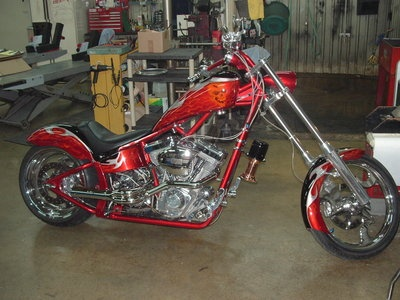 04 Bigdog Custom Chopper For Sale