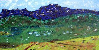 A Pretty Talent Blog: Landscape In Oil Colours