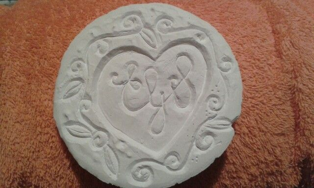 First attempt at carving in plaster