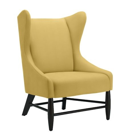 17 best images about gray yellow decor on pinterest for West elm yellow chair