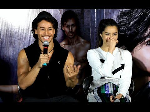 UNCUT interaction with Tiger Shroff, Shraddha Kapoor for BAAGHI movie    PART 1