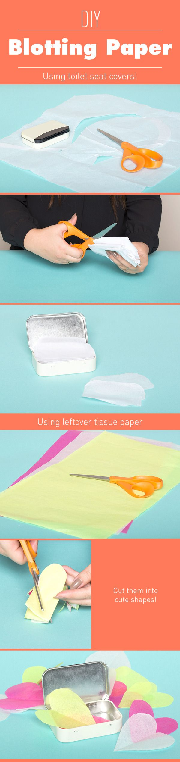 DIY Blotting Papers