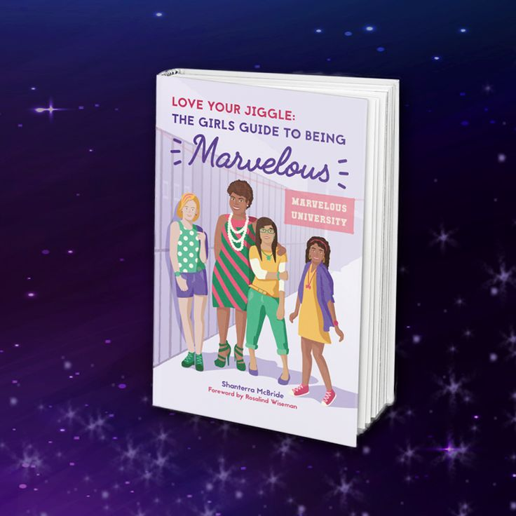 Today is the last day to pre-order #LoveYourJiggle! Make sure you get this book for the young girl in your life!  Makes a great holiday gift! This an inspirational book by Shanterra McBride for girls ages 11-17. Topics covered include self-esteem, maintaining friendships, decision-making, conflict management, self-empowerment and diversity. The messages are positive relating to growing up and being the best and most marvelous girl they can be.
