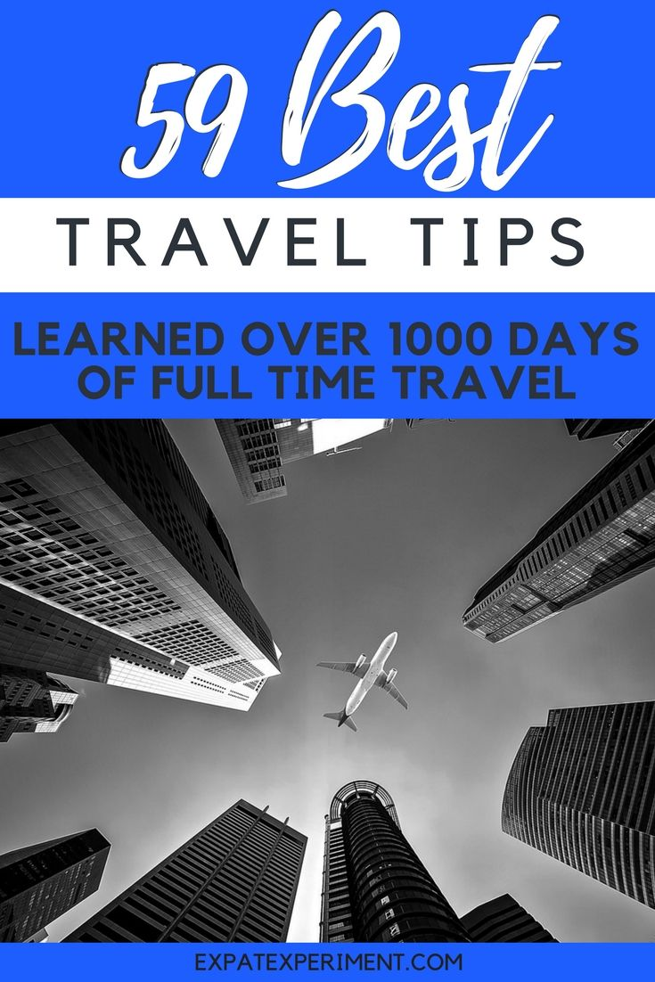 Here's a list of our best travel tips learned from experience. Simple things you can do to make travel better and save some time and money too!