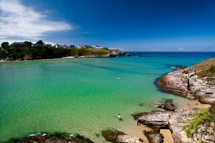 los pueblinos mas veraniegos de asturias: Playa Tapia de Casariego (Asturias)