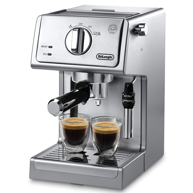 DeLonghi ECP3630 Cafetière Espresso / Cappuccino à Pompe