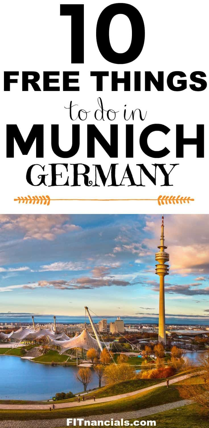 Germany On A Finances – 10 Free Issues To Do In Munich