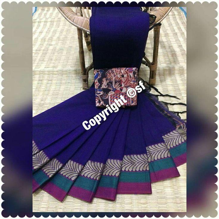 cotn handloom sares kalamkari and ikat blouses 1 meter  all rdy stock 1650+$