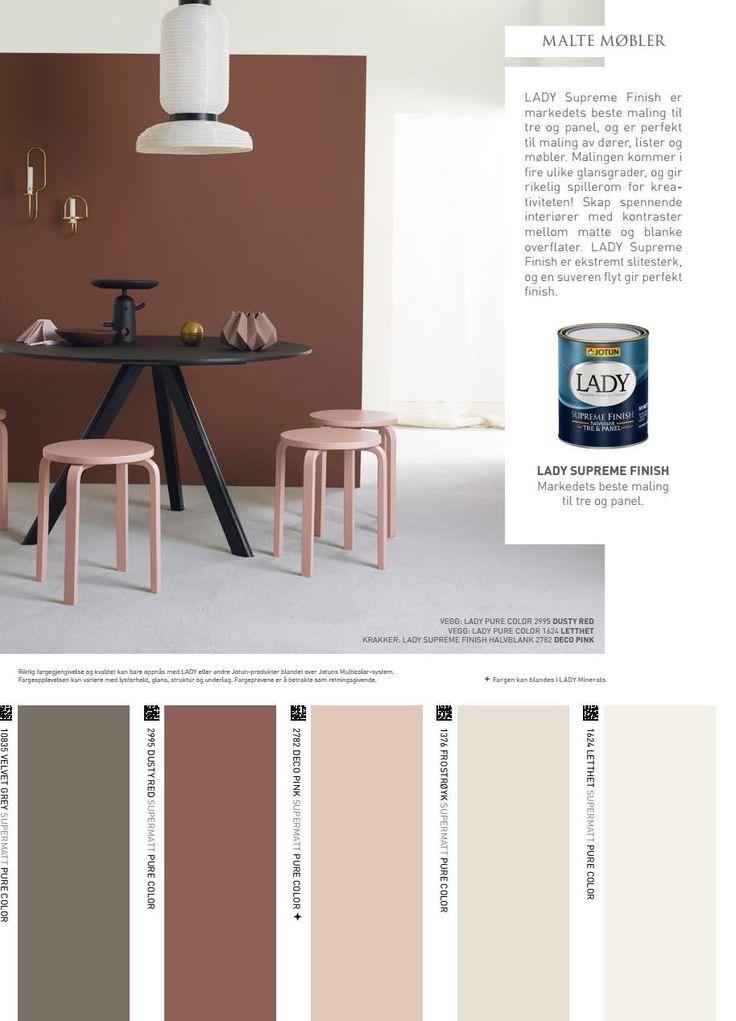 #ClippedOnIssuu from Jotun LADY - Det nye vakre fargekartet 2017