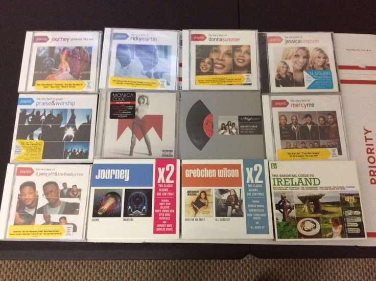 Lot of 12 Top Music Artists CDs - Most are Brand New & Sealed - No Reserve