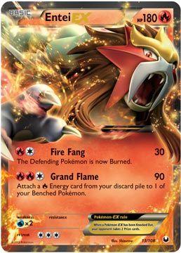 ex pokemon cards | Entei EX -- Dark Explorers Pokemon Card Review | Primetime Pokemons ...