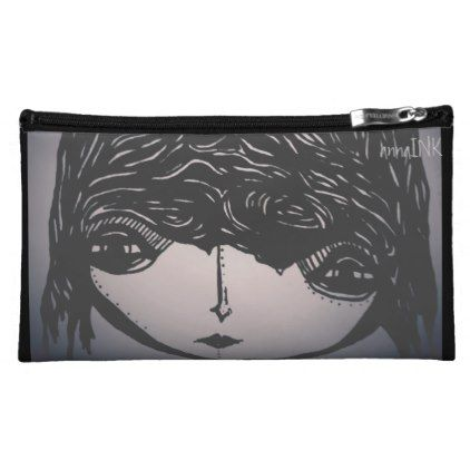 Abstract Designer Cosmetic Bag - girl gifts special unique diy gift idea