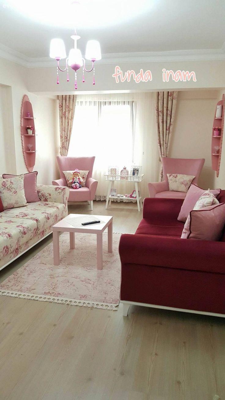 Oturma Odası Ev Dekorasyon Fikirleri, Projeleri, Resimleri ve Sunumları