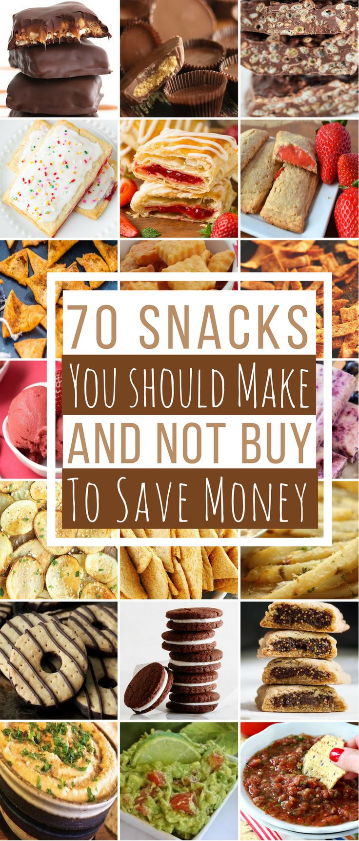 Stopbuying expensive snacks at the grocery store. You can make your own snacks for a lotless than what it costs to buy them.You can easily makeDoritos, Cheez-Its, Reese's Peanut Butter Cups,Oreos, Pop-Tartsand much more. Plus, the homemade versions of these snackswill taste betterthan the store bought onesbecause they are made withreal ingredients and arepreservative-free. Chips … … Continue reading →