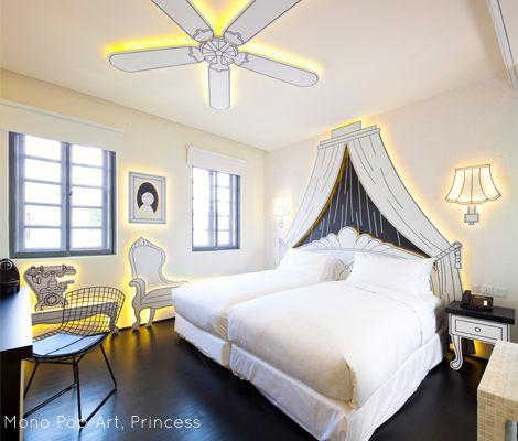 wanderlust hotel, singapore Mono Princess 306