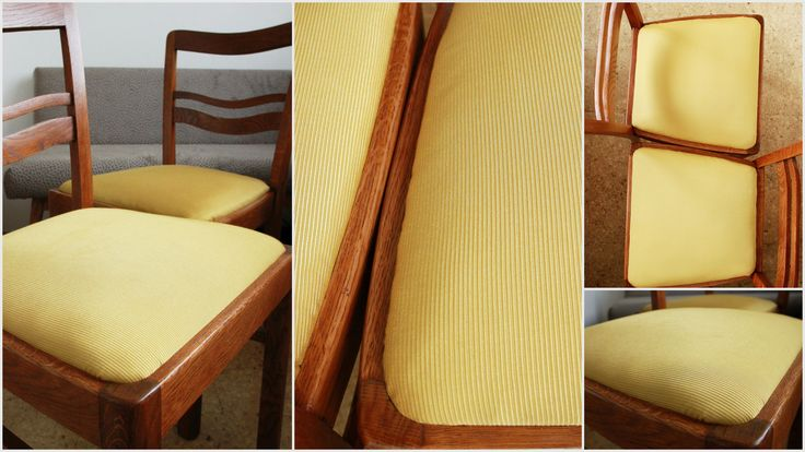 Oak chairs renovated by Full SIze Interior.