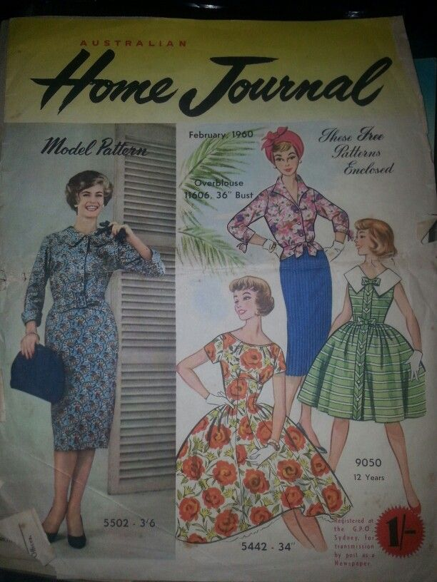 Australian home journal February 1960 cover