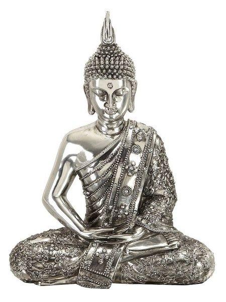 Meditating Buddha Peace Statue