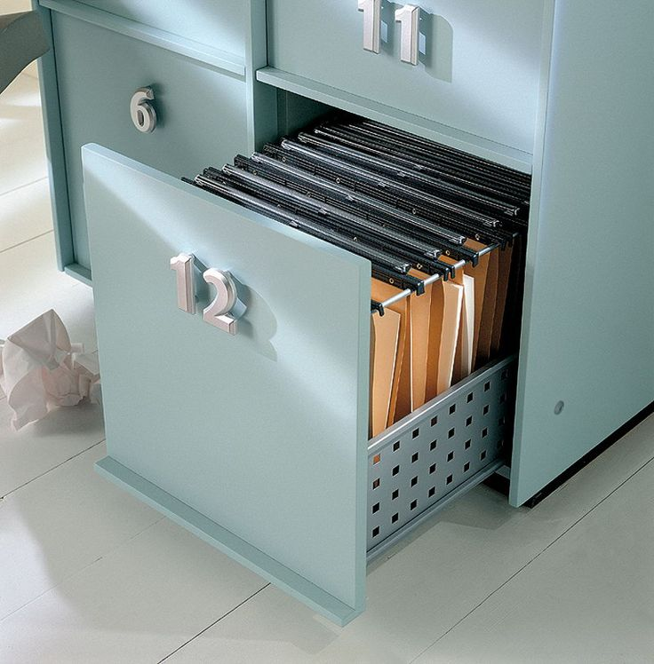 Composable unit with drawers and doors TOOLBOX by EmmeBi | design Pietro Arosio