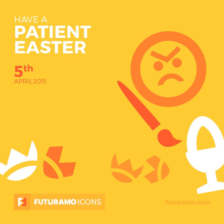 Have a patient Easter! Check out our FUTURAMO ICONS – a perfect tool for designers & developers on futuramo.com