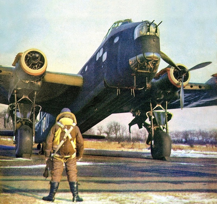 Stirling Bomber - 149 Squadron RAF, Mildenhall, Suffolk, England - June 1942