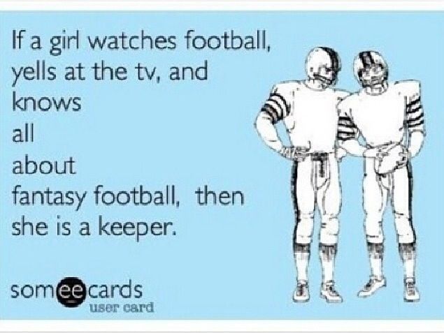 Girls who like Football
