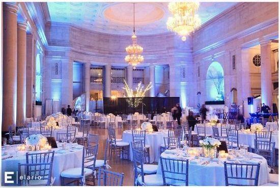 Lovely setup at this #uplighting #wedding #reception! via #elario. #diy #diywedding #weddingideas #weddinginspiration #ideas #inspiration #rentmywedding #celebration #weddingreception #party #weddingplanner #event #planning #dreamwedding