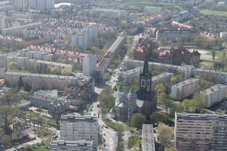 Punkt widokowy Sky Tower we Wrocławiu.