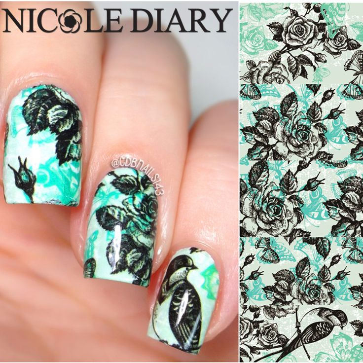NICOLE DIARY-12 Nail Art Water Decals Natural Pattern Manicure Sticker Water Transfer Nail Art Tattoo 25946 #>=#>=#>=#>=#> Click on the pin to check out discount price, color, size, shipping, etc. Save and like it!