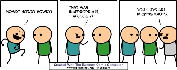 Cyanide & Happiness (Explosm.net) | geeky stuff (well not really ...