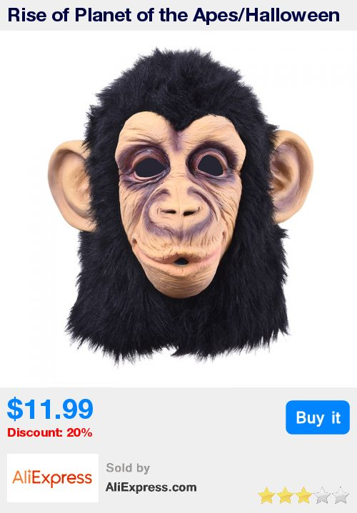 Rise of Planet of the Apes/Halloween cosplay gorilla masquerade mask/ Monkey King Costumes caps realistic silicone party masks * Pub Date: 19:18 Jul 15 2017