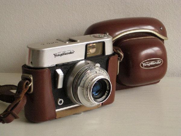 La macchina fotografica di mio papà quand'ero bambino