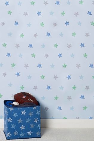 Buy Multi Star Wallpaper from the Next UK online shop £15