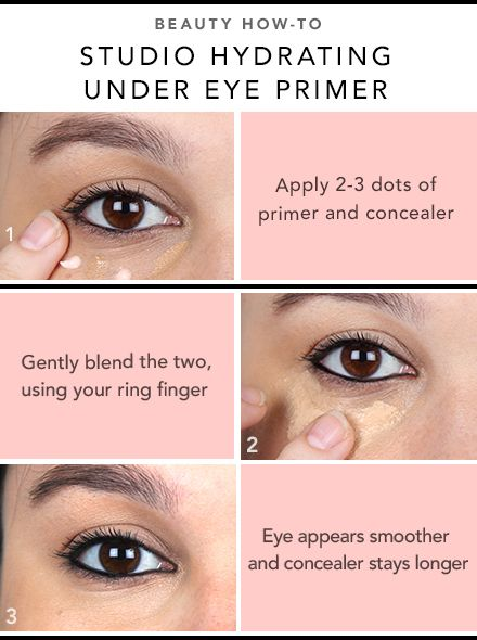 Beauty How-To: Hydrating Undereye Primer! read more at http://cosmeticscoliseum.com/