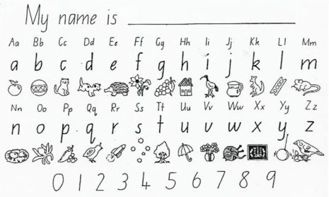 nsw foundation handwriting worksheets - Google Search