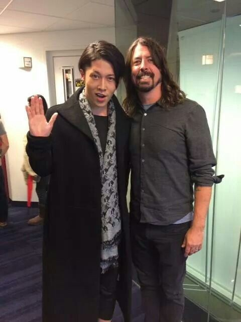 Miyavi and Dave Grohl