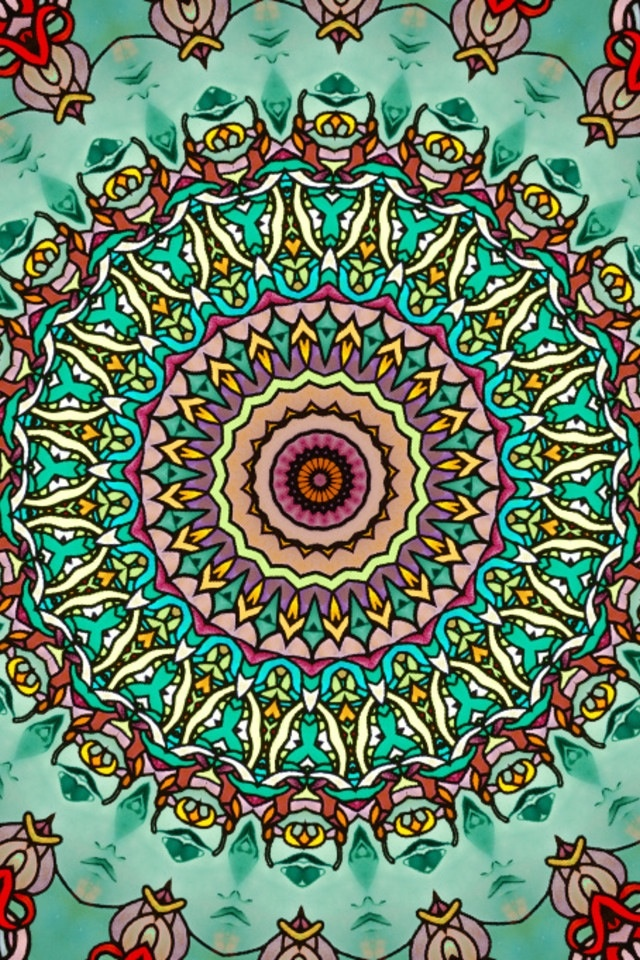 wallpapers hippie mandala - photo #9