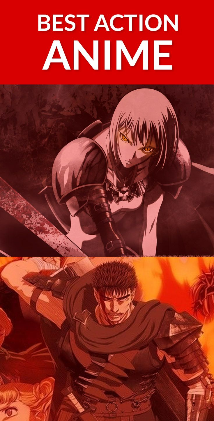 Best Action Anime List