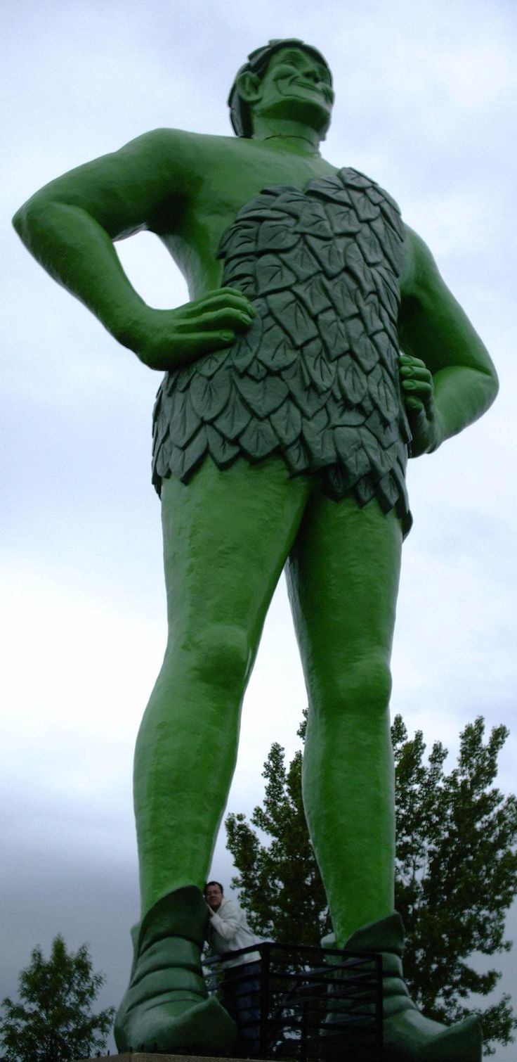 Minnesota's own: Ho ho ho Green Giant!