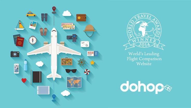 Dohop ist die beste Möglichkeit, um billige Flüge zu finden. Mehr reisen. Weniger bezahlen.