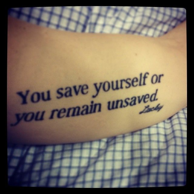 1000+ Images About Quote Tattoo Ideas On Pinterest