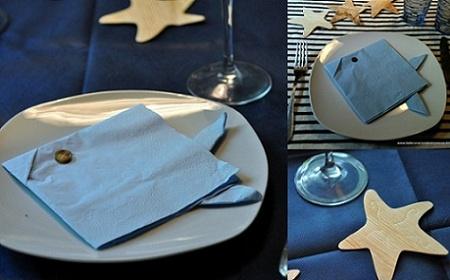 decoracion de mesas con servilletas